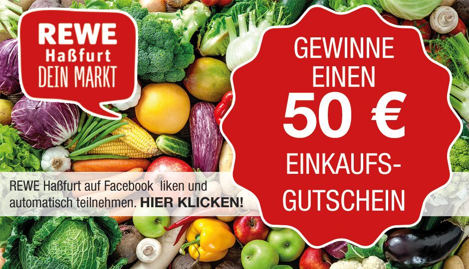 Anzeige - Die Gewinnspiel-Bedingungen finden Sie unter: www.rewecenter-hassfurt.de/fb/gewinnspiel-bedingungen.html