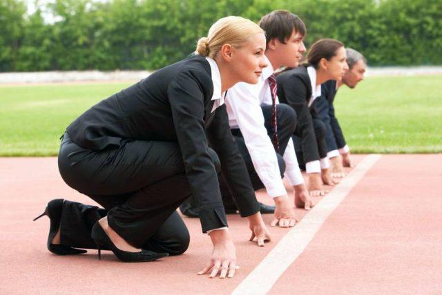 Auf die Plätze, fertig, los: Wer einen begehrten Job haben will, muss sich möglichst perfekt präsentieren