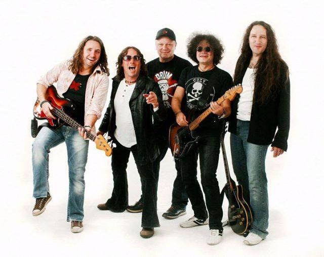 Rock-Band Fire live in Haßfurt
