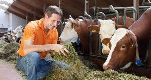 Fleisch und Wurstwaren sicher genießen: Das blaue Prüfzeichen steht für lückenlose Kontrollen und geprüfte Qualität.