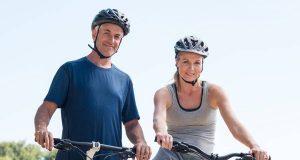 Radtouren können dazu beitragen, das LDL-Cholesterin zu senken und Herzinfarkten vorzubeugen.