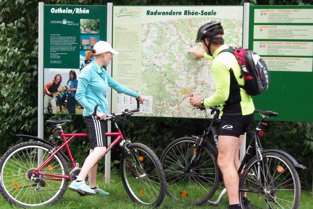 Biker finden in der Rhön zahlreiche gut markierte Touren unterschiedlicher Schwierigkeitsgrade.