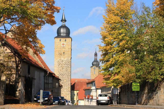 Der Eberner Grauturm ist einer der höchsten Tortürme Bayerns. Am Tag des offenen Denkmals finden Führungen nach Bedarf durch den Eberner Türmer statt.