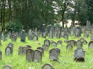 Der jüdische Friedhof in Kleinsteinach