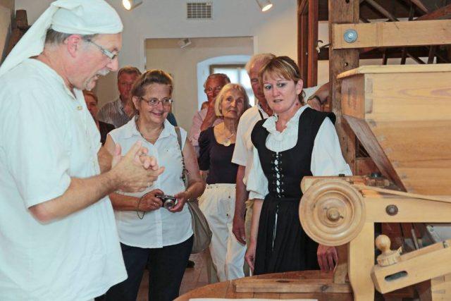 Das Museum in der ehemaligen Getreidemühle macht Handwerksgeschichte lebendig.