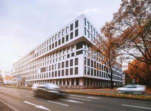Campus Köln West gestaltet von Naturstein Steinmann