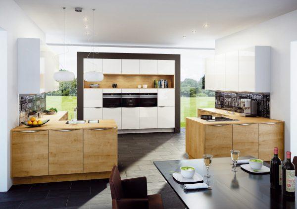 Moderne küche holz  Holz in der modernen Küche: Uralt und doch modern - MAINLIKE®