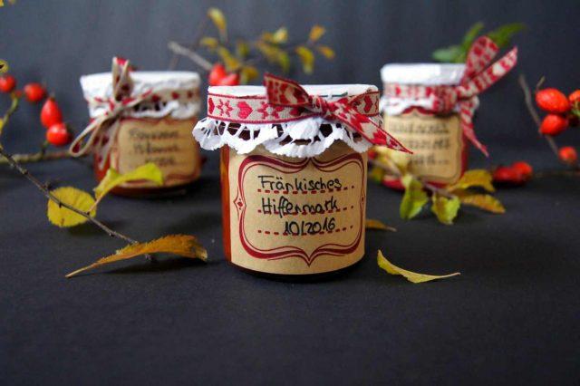 fränkische Hagebuttenmarmelade selbstgemacht - Hiffenmark
