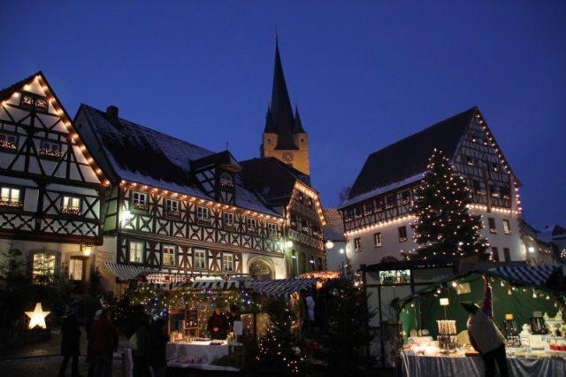 Weihnachtsmarkt in Zeil am Main