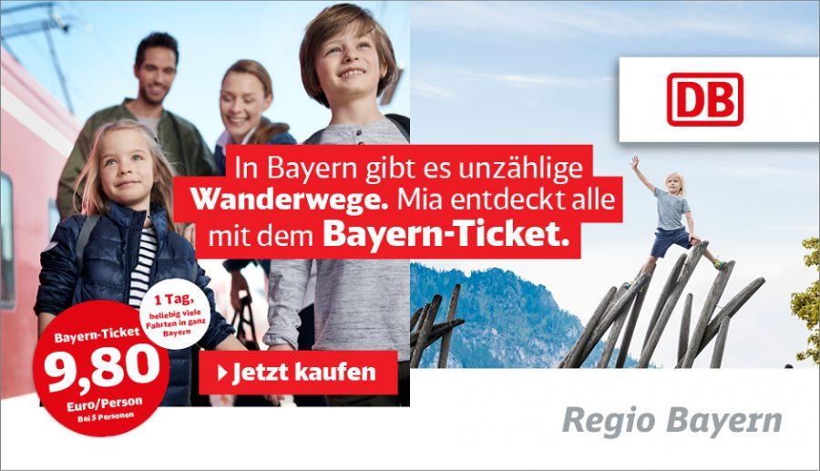 Mia entdeckt Bayern mit dem Bayernticket