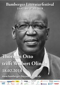 Wilbert Olinde beim Bamberger Literaturfestival