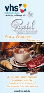 Flyer Film und Frühstück Capitol Kino