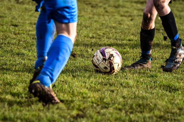 Faszination Fussball - ohne Schiri läuft nichts.
