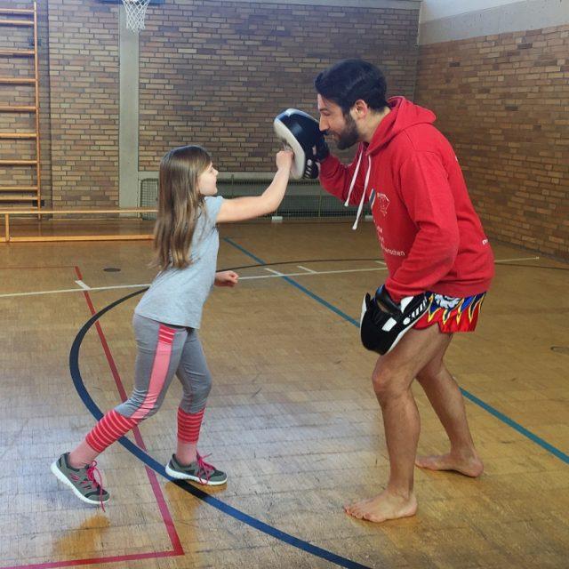 Selbstverteidigungs- und Selbstbehauptungs-Workshop an der Mittelschule Sennfeld