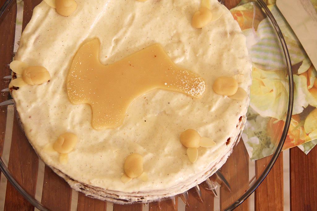Mandel-Marzipan-Torte zu Ostern