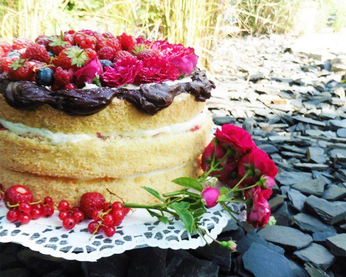 Beeren-Mascarpone-Torte von Törtchenfieber