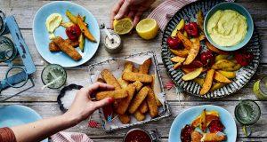 Mit selbst gemachten Dips wird der Backfisch zu einem besonderen Genus