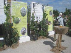 Gartenbauvereine und Winzer des Landkreises Haßberge präsentieren sich gemeinsam auf der Landesgartenschau in Würzburg.