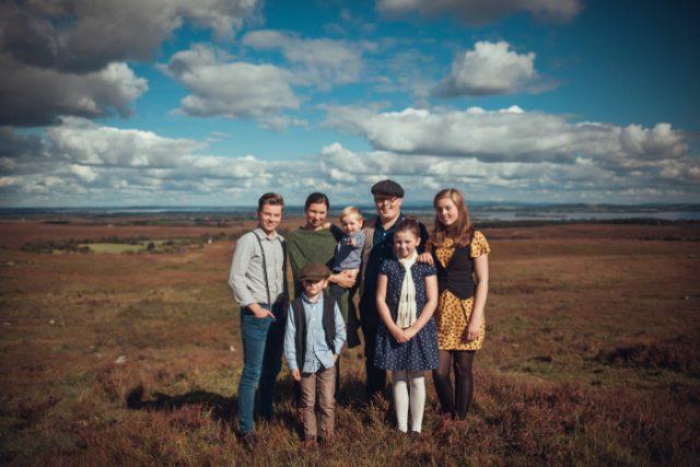 Angelo Kelly mit seiner Familie auf Open Air Tour