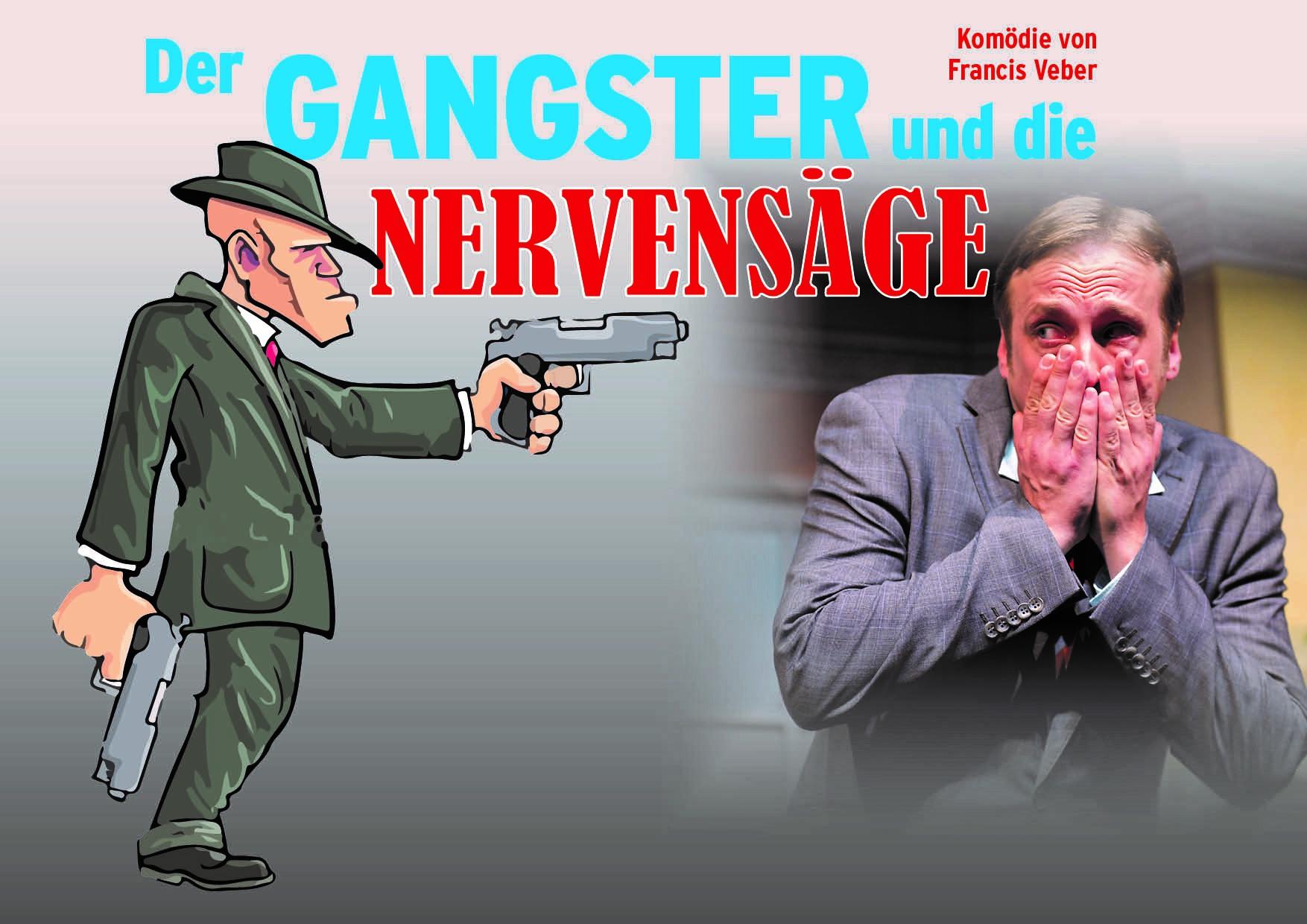 """""""Der Gangster und die Nervensäge"""" mit Bürger Lars Dietrich in Hallstadt"""