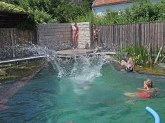 Das reine Badevergnügen für die ganze Familie: Schwimmteiche und Naturpools stellen eine beliebte Alternative zum gechlorten Pool dar.