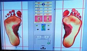 Fußanalyse bei mannl + hauck