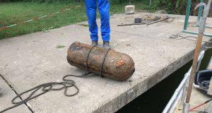 Erneuter Bombenfund im Sennfelder Badesee