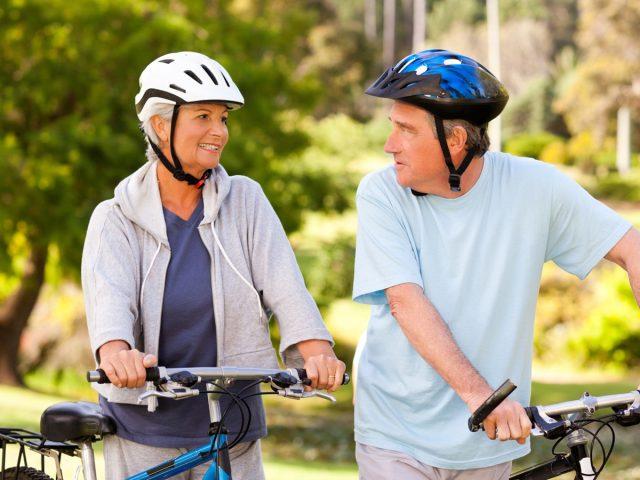 Endlich beschwerdefrei Radfahren dank Einlegesohlen.