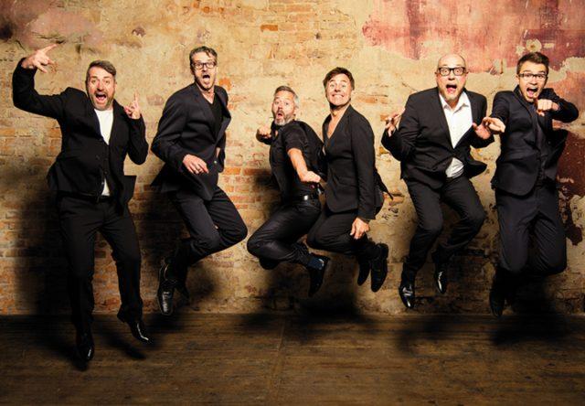 Six Pack – die A Cappella Show live in der Stadthalle Bad Neustadt