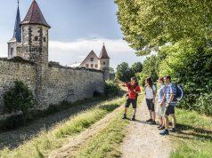 Wanderstation im Coburger Land: Das romantische und mittelalterliche Seßlach besitzt einen der bedeutendsten historischen Stadtkerne Deutschlands.