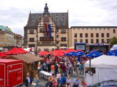 Street Food Meile in Schweinfurt
