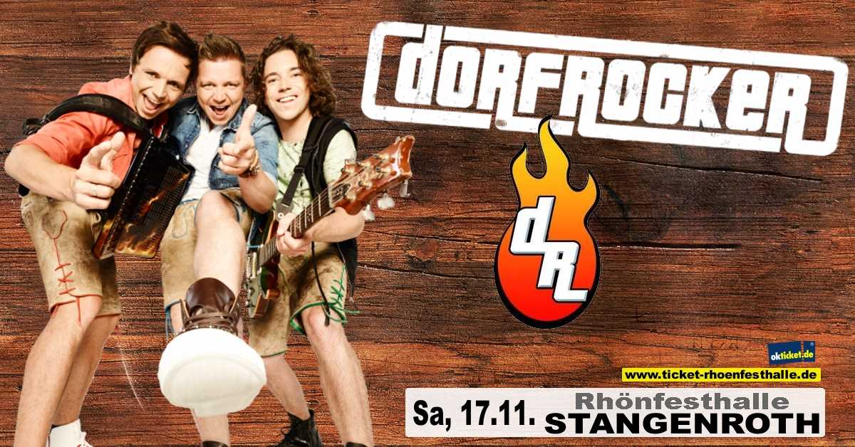 Die Dorfrocker live in Stangenroth