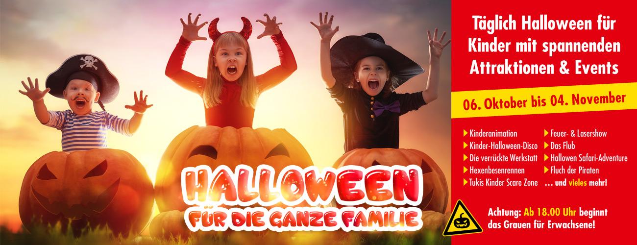 Halloween im Freizeit-Land Geiselwind