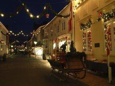 Lichterketten zur Weihnachtszeit