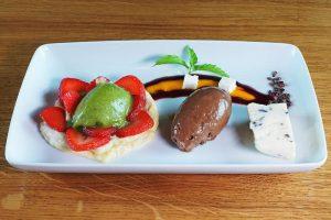 Dessertvariation im Schlossrestaurant