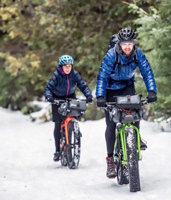 Fahrradsport im Winter
