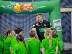 Handballtraining mit den Stars. Möglicherweise gibt Jannik Kohlbacher, Kreisläufer in der deutschen Nationalmannschaft, demnächst seine Profi-Tipps weiter an Grundschüler der Region Main-Rhön.