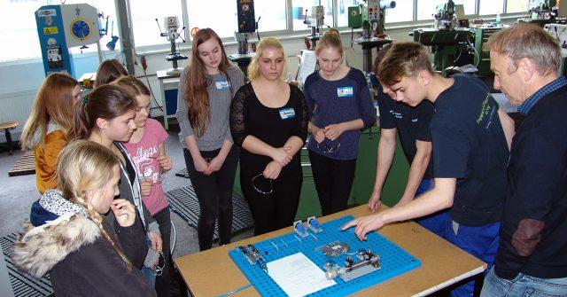 Auf großes Interesse stieß der Girlsday bei der Firma Unicor in Haßfurt.