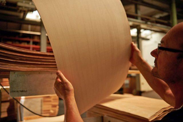 Buchensperrholz zeichnet sich durch Härte, Elastizität und hohe Bruchfestigkeit aus.
