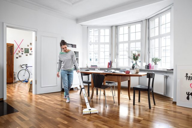 Ordnung erleichtert die Hausarbeit: Freie Flächen auf dem Boden sind im Nu gesaugt oder gewischt.