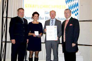 Verleihung des Staatsehrenpreis.