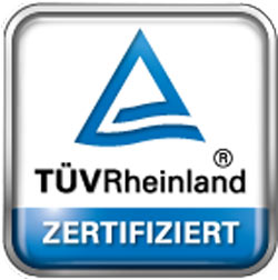 TÜV Rheinland geprüfter Qualifikation