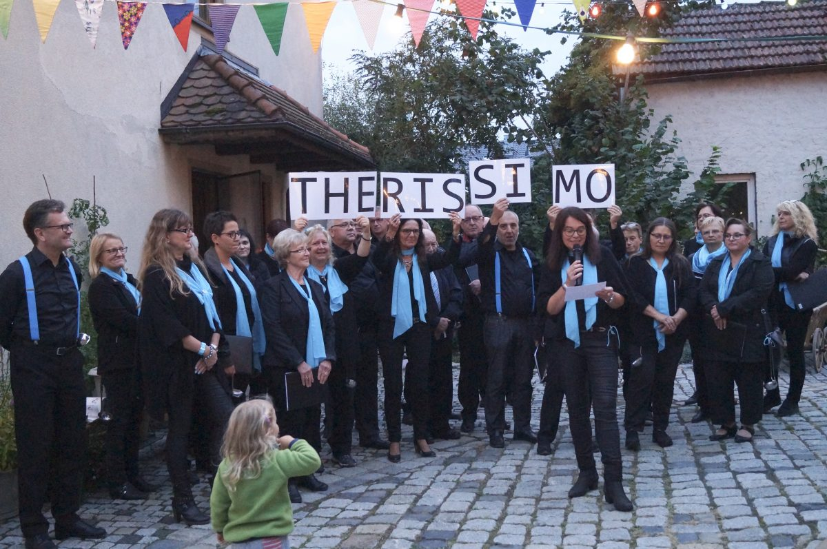 Kunst trifft Musik in Obertheres