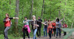 Wandern und trainieren in Bad Bocklet