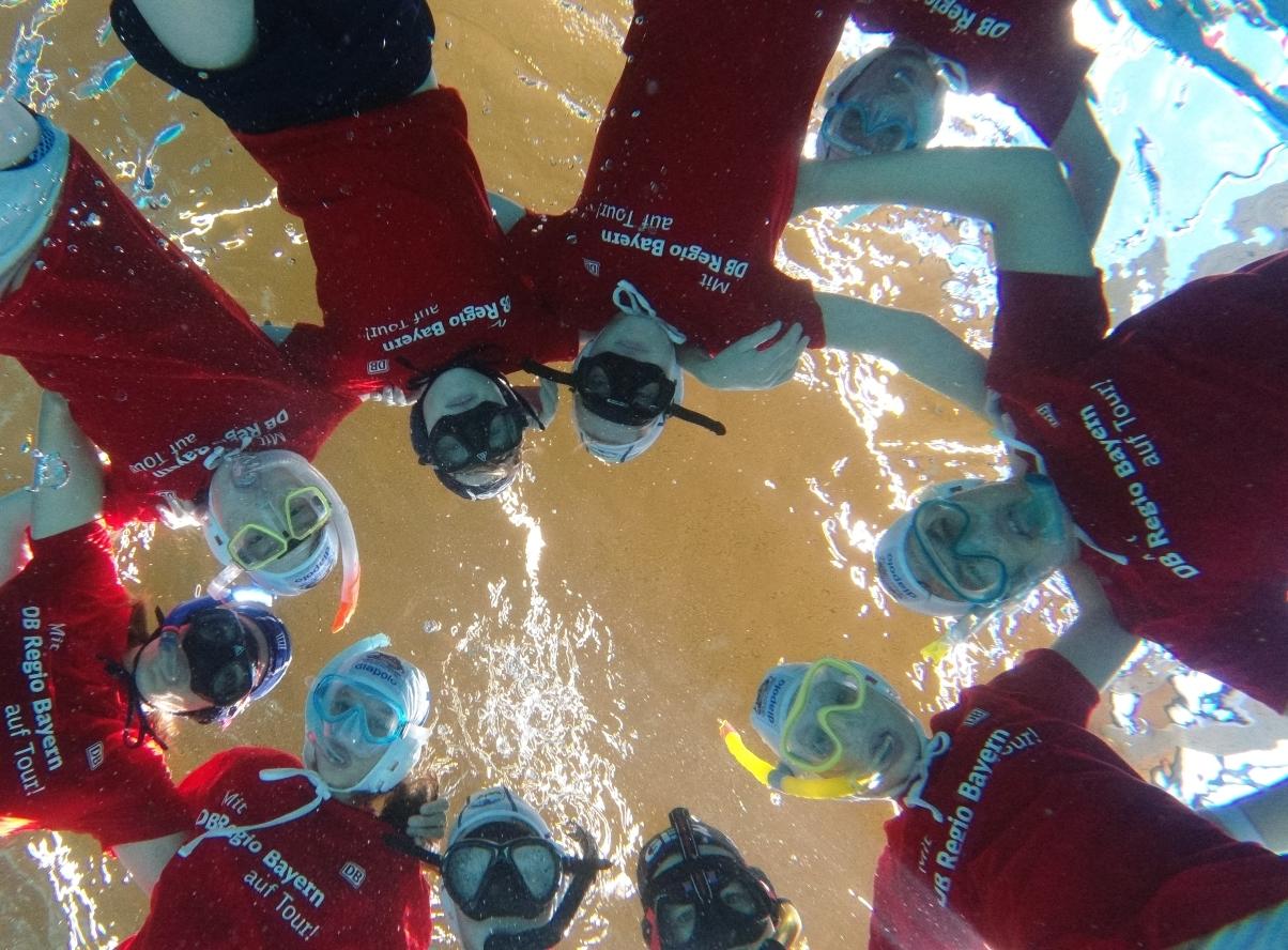 Deutscher Vizemeister im Unterwasser-Rugby