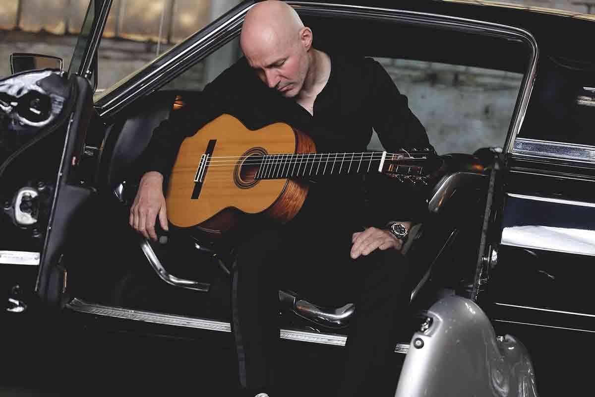 Frank Bungarten auf den 25. Bamberger Gitarrentage