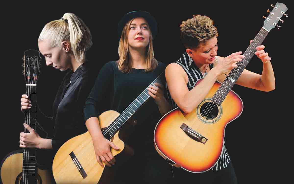 Auf den 25. Bamberger Gitarrentage dabei: MusiSHEans