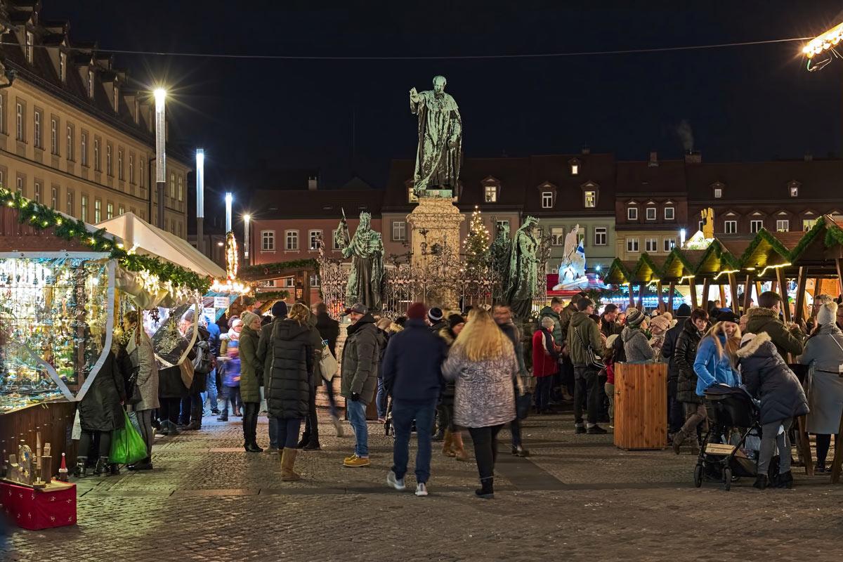 Weihnachtszeit in Bamberg