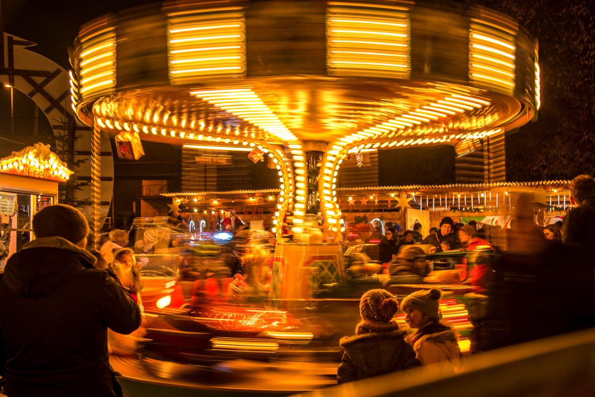 Weihnachtsmarkt in Himmelstadt bietet auch für die Kleinsten was. Foto: Gemeinde Himmelstadt