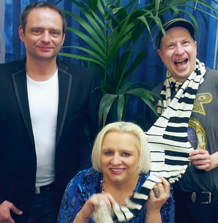 Mad Bob, Fritz Wenzel und Elke Neugebauer – geben sich die Ehre!